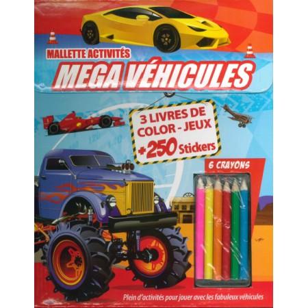 Ma super mallette Méga véhicules