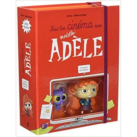 Fais ton cinéma avec Mortelle Adèle - Avec 2 figurines et 3 décors articulés