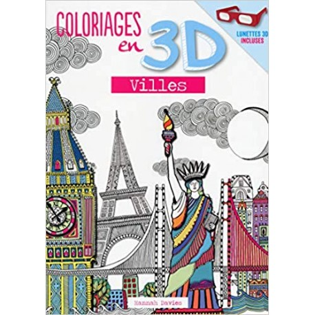 Coloriages en 3D - Villes