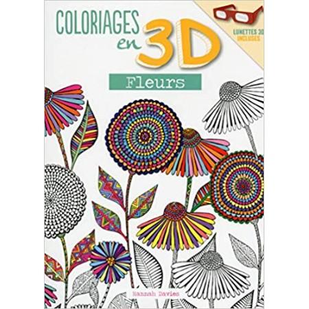 Coloriages en 3D - Fleurs