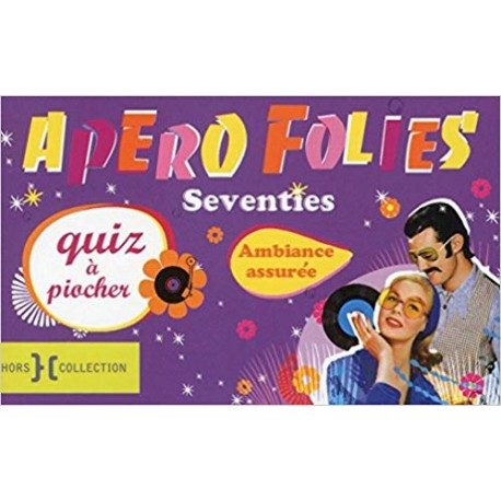 Apéro folies Seventies (Boîte)