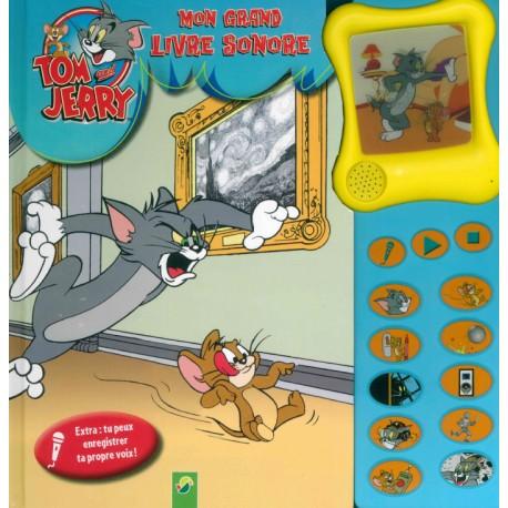 Tom Et Jerry Mon Grand Livre Sonore