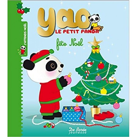 Yao le petit panda fête Noël