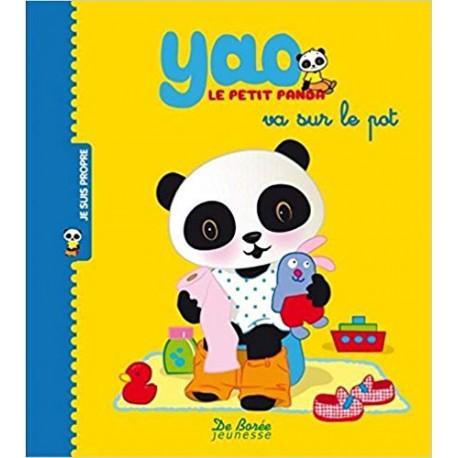Yao le petit panda va sur le pot