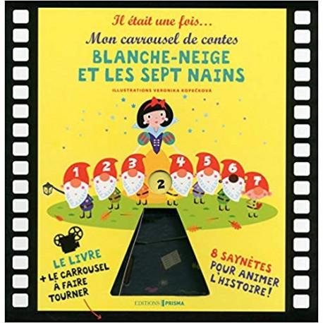 Blanche neige et les septs nains - Mon carrousel de contes Coffret