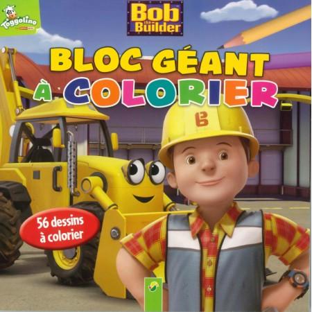 Bob le bricoleur Bloc géant à colorier