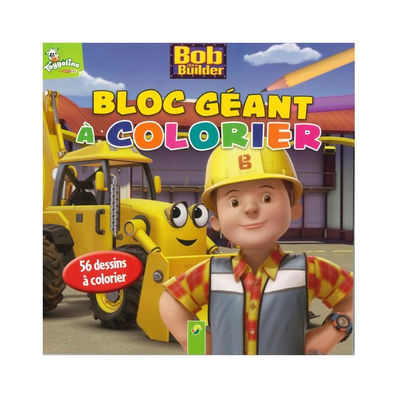 Coloriage Le Camion De Bob Le Bricoleur.Activites Jeux Coloriages Bob Le Bricoleur Bloc Geant A Color