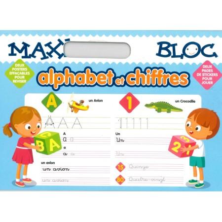 Maxi Bloc Alphabet et chiffres
