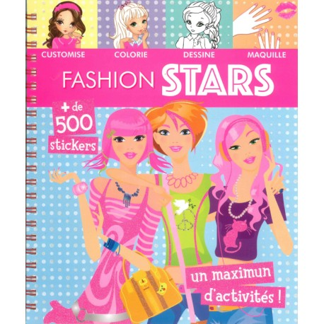 Fashion stars + de 500 stickers