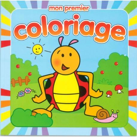 Coloriage Coccinelle Et Papillon.Mon Premier Coloriage Coccinelle