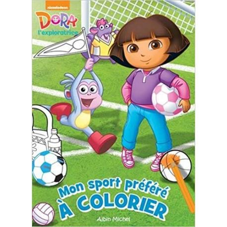 Mon sport préféré à colorier