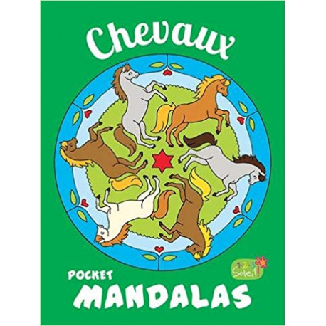 Pocket mandalas Chevaux