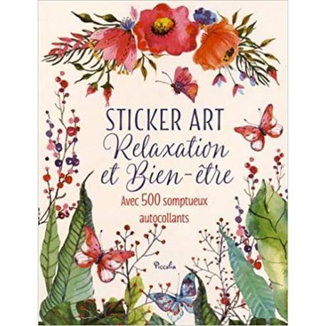 Sticker art - Relaxation et bien-être
