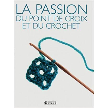 La passion du point de croix et du crochet - 2 Volumes (Coffret)