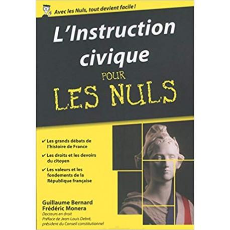 L'Instruction civique pour les Nuls poche