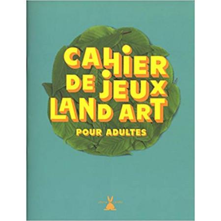 Cahier de jeux land art pour adultes