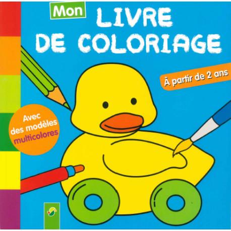 Mon Livre De Coloriage Canard