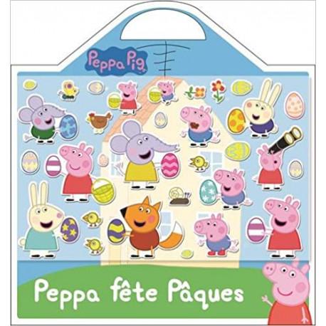 Coloriage Paques Peppa Pig.Activites Jeux Coloriages Peppa Fete Paques Valisette Stick