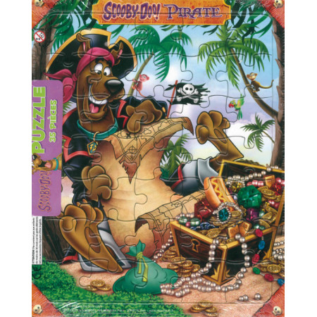 Puzzle Scooby-Doo Pirate