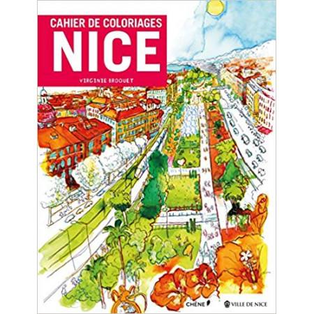 Cahier de coloriages Nice