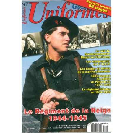 Gazette des uniformes n° 247