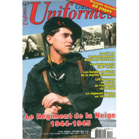 Gazette des uniformes n° 247