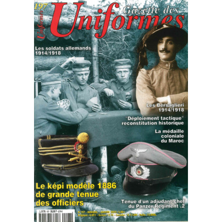 Gazette des uniformes n° 197