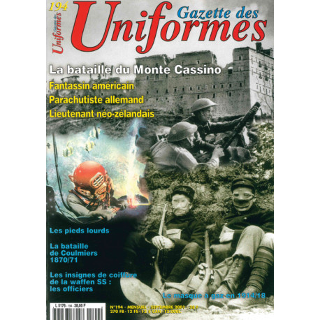Gazette des uniformes n° 194