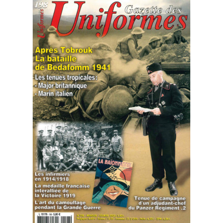 Gazette des uniformes n° 198