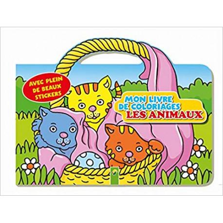 Activites Jeux Coloriages Animaux Mon Livre De Coloriages