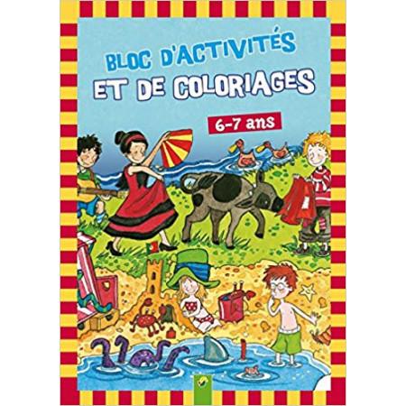 Bloc d'activités et de coloriages - 6-7 ans