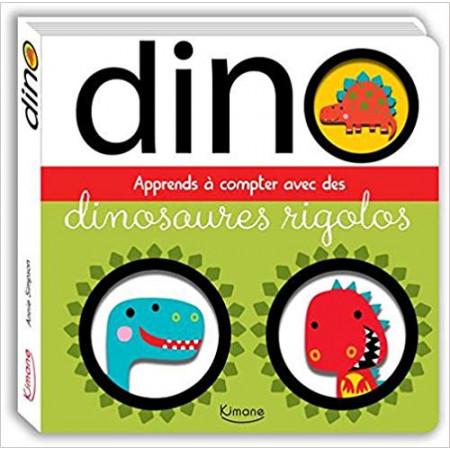 Dino - Apprends à compter avec des dinosaures rigolos