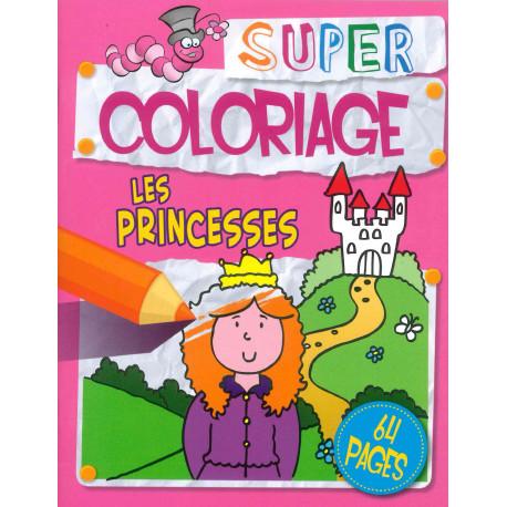 Super coloriage Les princesses