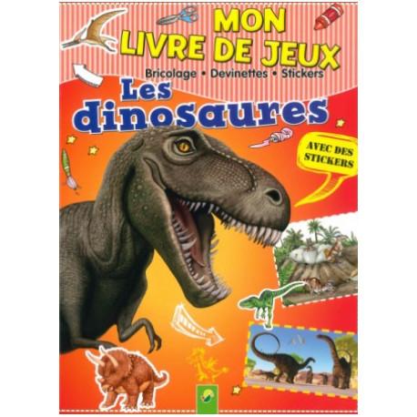 Mon livre de jeux Les dinosaures