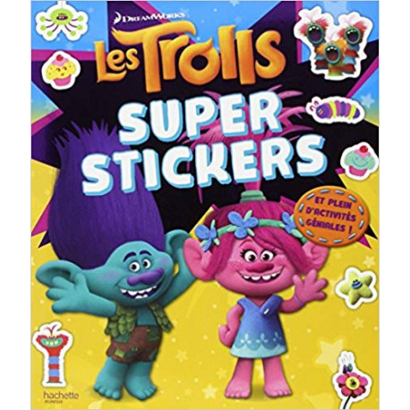 Dreamworks Trolls - Super stickers