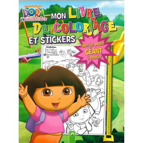 Activites Jeux Coloriages Dora Mon Livre De Coloriage Et De S