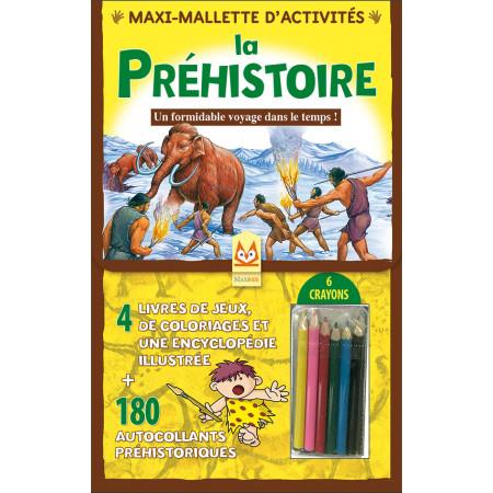 Maxi-Mallette d'activités - LA PREHISTOIRE