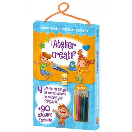 Maxi-Mallette d'activités - ATELIER CREATIF