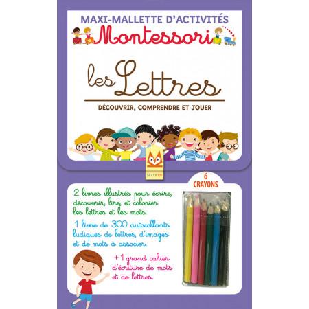 Maxi-Mallette d'activités - MONTESSORI - LES LETTRES