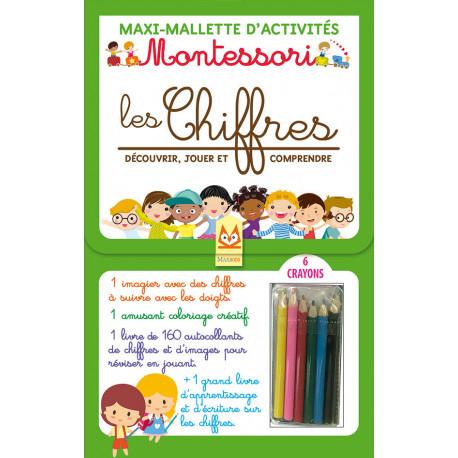 Maxi-Mallette d'activités - MONTESSORI - LES CHIFFRES