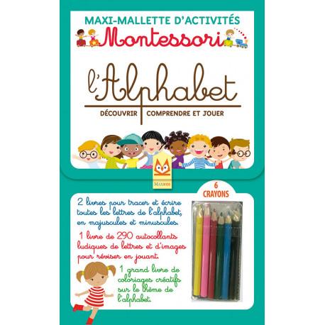 Maxi-Mallette d'activités - MONTESSORI - L'ALPHABET