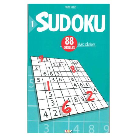 SUDOKU 88 GRILLES N°1 avec solutions