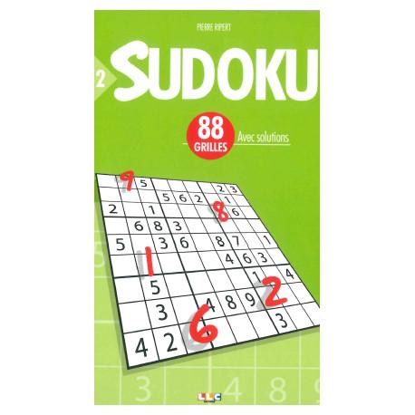 SUDOKU 88 GRILLES N°2 avec solutions