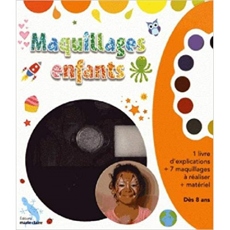 Coffret maquillages enfants