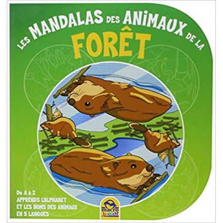 Les mandalas des animaux de la forêt