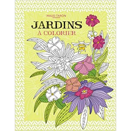 Jardins à colorier