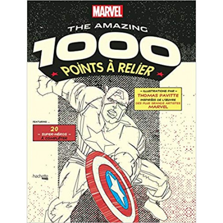 Points à relier Marvel