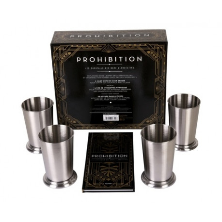 Prohibition - Les cocktails des bars clandestins