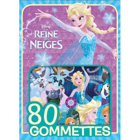 Reine des neiges - 80 gommettes (bleu violet)