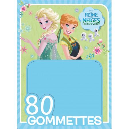 Une Fête Givrée, La Reine des Neiges, 80 GOMMETTES